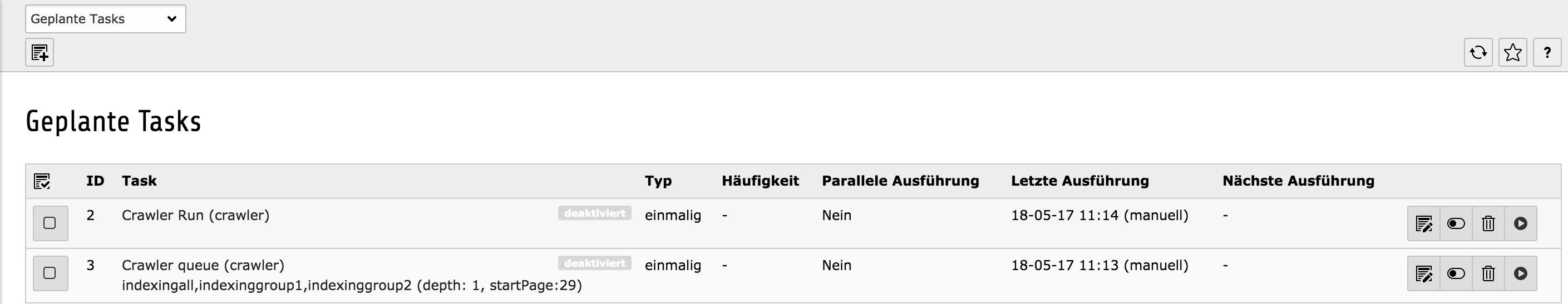 Indexed Search und Crawler - Indizierung von PDFs und Verwendung von FE-Usergruppen Abbildung 7
