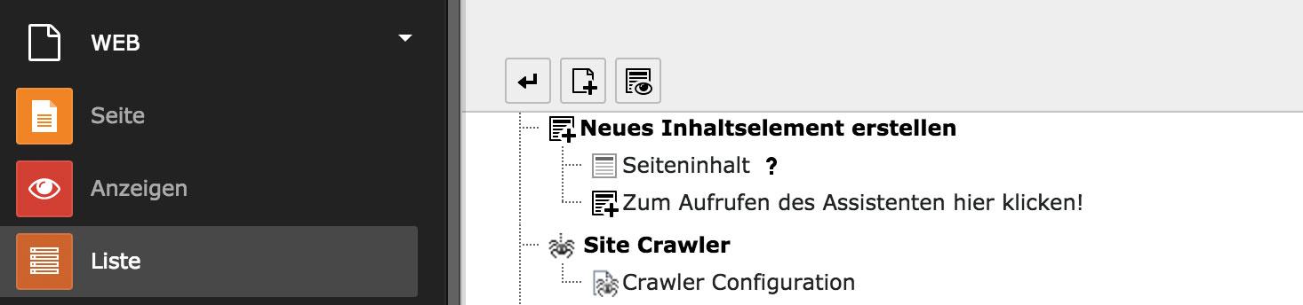 Indexed Search und Crawler - Indizierung von PDFs und Verwendung von FE-Usergruppen: Abbildung 1